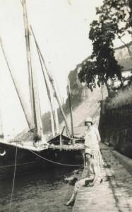 Meillerie au bord du Léman, en 1929