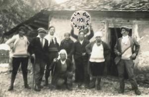 Le châlet d'Oche en 1931.