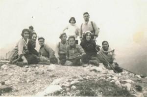 30 août 1931, sommet de la dent d'Oche