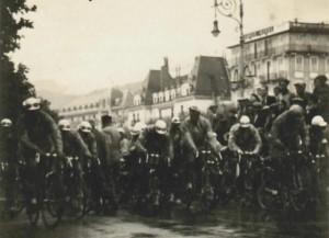 Le tour de France à Evian, 1931