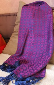 Echarpe en soie