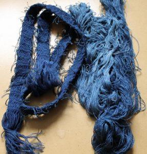 Le bleu obtenu